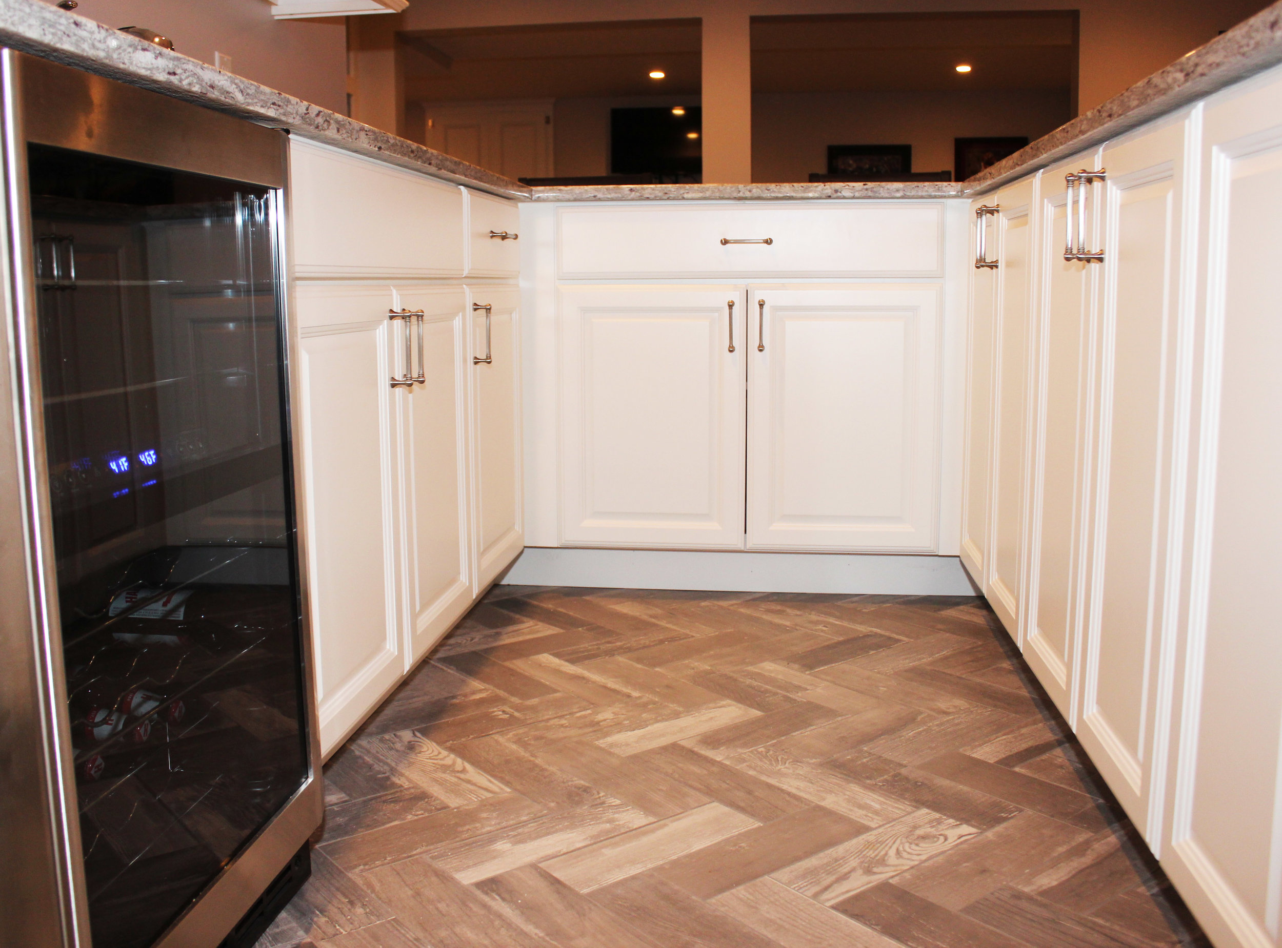 Wet Bar Floor - Herringbone.jpg