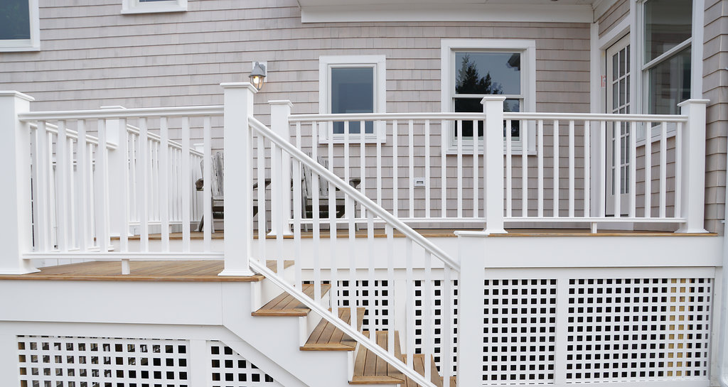 Deck on Manomet Avenue