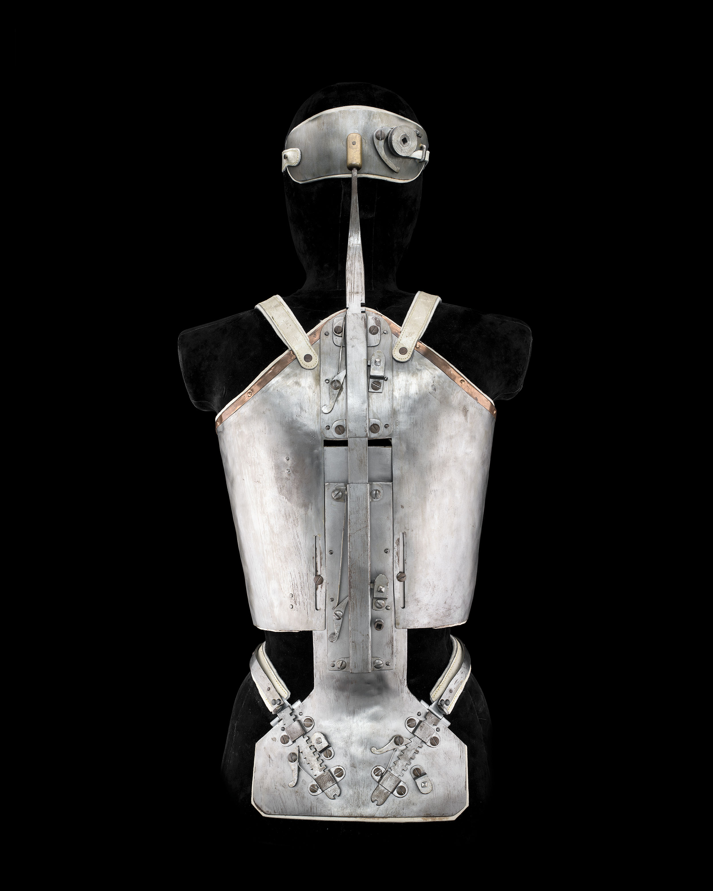 Considered one of the earliest modern prosthetists, Swiss physician Jean-André Venel (1740–1791) developed a corset for people with scoliosis, a curvature of the spine. The idea was to treat a malformation or disability. Technically, the corset is an orthotic device, which compensates for an absent or deficient function, as opposed to a prosthesis, which replaces a function. Orthotics are the forerunners of the exoskeleton, the development of which is accelerating for civilian and military uses.