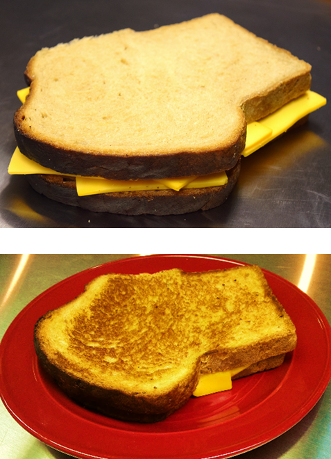 Grilled Cheese on Rye