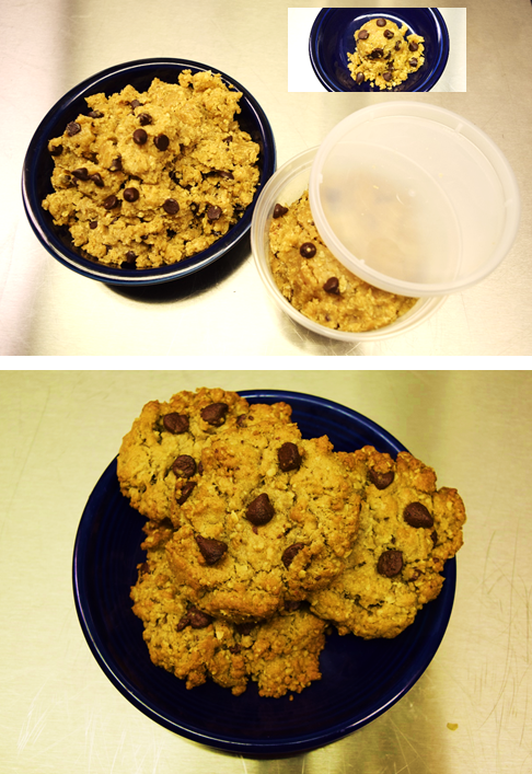 Oatmeal Chocolate Chip Cookie Dough