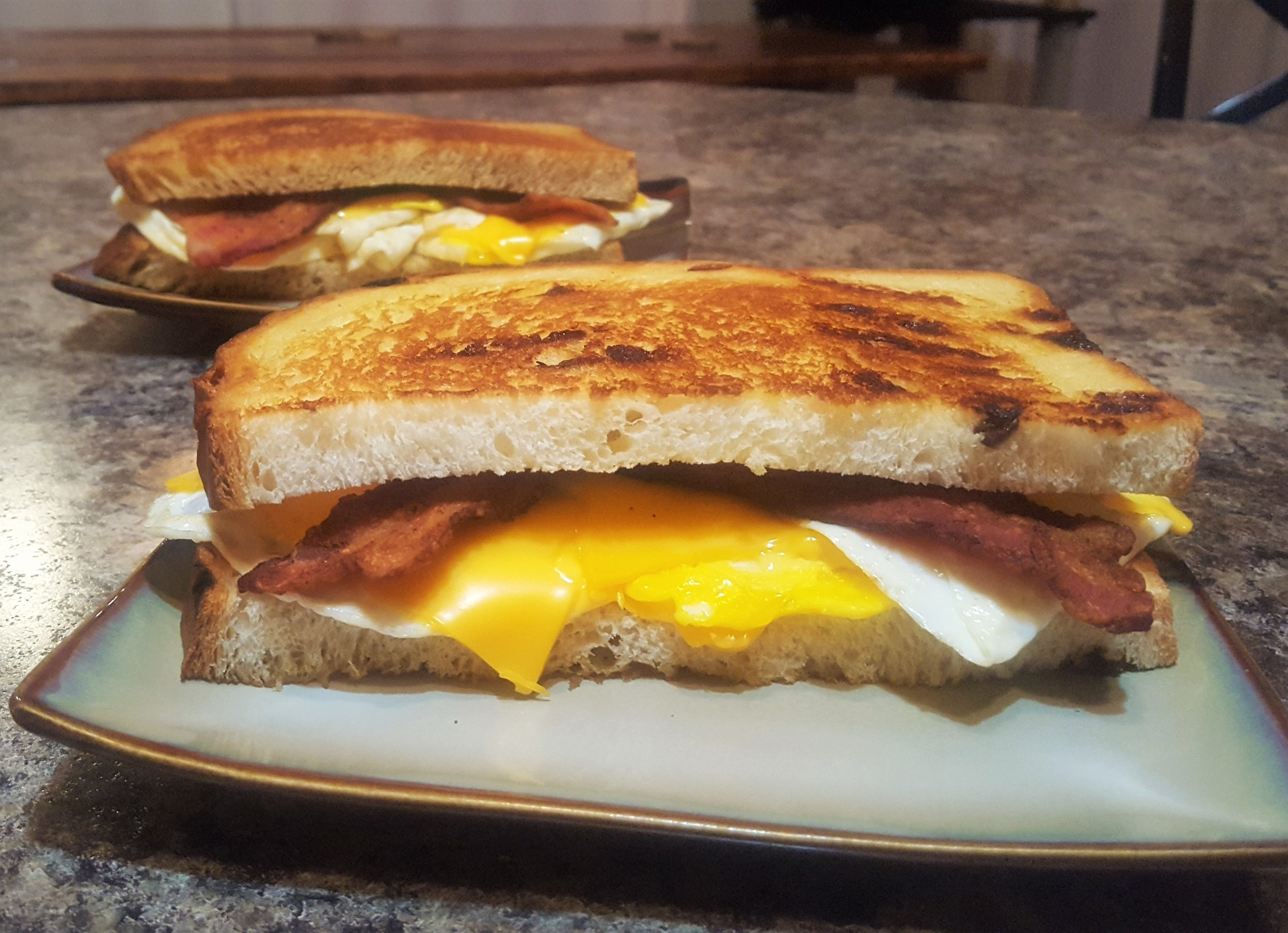 Bacon, Egg, and Cheese