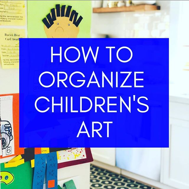 Swimming in bins of your child's most precious creations?Too many of you ask this question so I'm finally giving you 3 simple rules (and so much more) to follow. Link in profile 👆! . . . . . #organize #simplify #kidsartwork #children #howtoorganize #homesweethome #momofboys #professionalorganizer