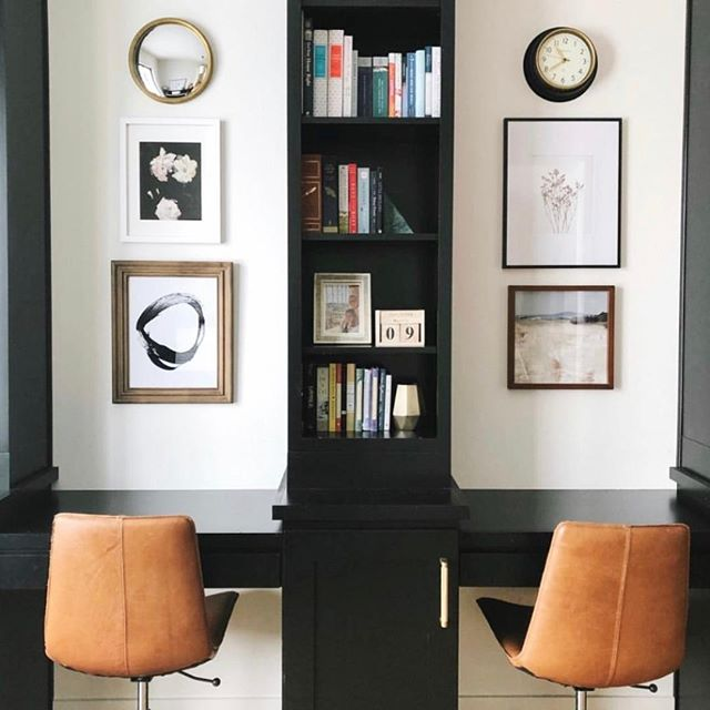 100% inspired by this office space. As we start planning an office redo, I think dark built-ins and leather are a must. Some thing that definitely won't be in it? A file cabinet. Heavens - those are so pre Marie Kondo. Designed by @shedesignsit and reposted by @juniperprintshop. ⠀⠀⠀⠀⠀⠀⠀⠀⠀ ⠀⠀⠀⠀⠀⠀⠀⠀⠀ #organize #simplify #tipsandtricks #habits #change #lessismore #professionalorganizer #organizedhome #organizedlife #organizing #declutter #getorganized #motivation #empowerment #inspiration #change #women #selflove #entrepreneur #empower #love #inspire