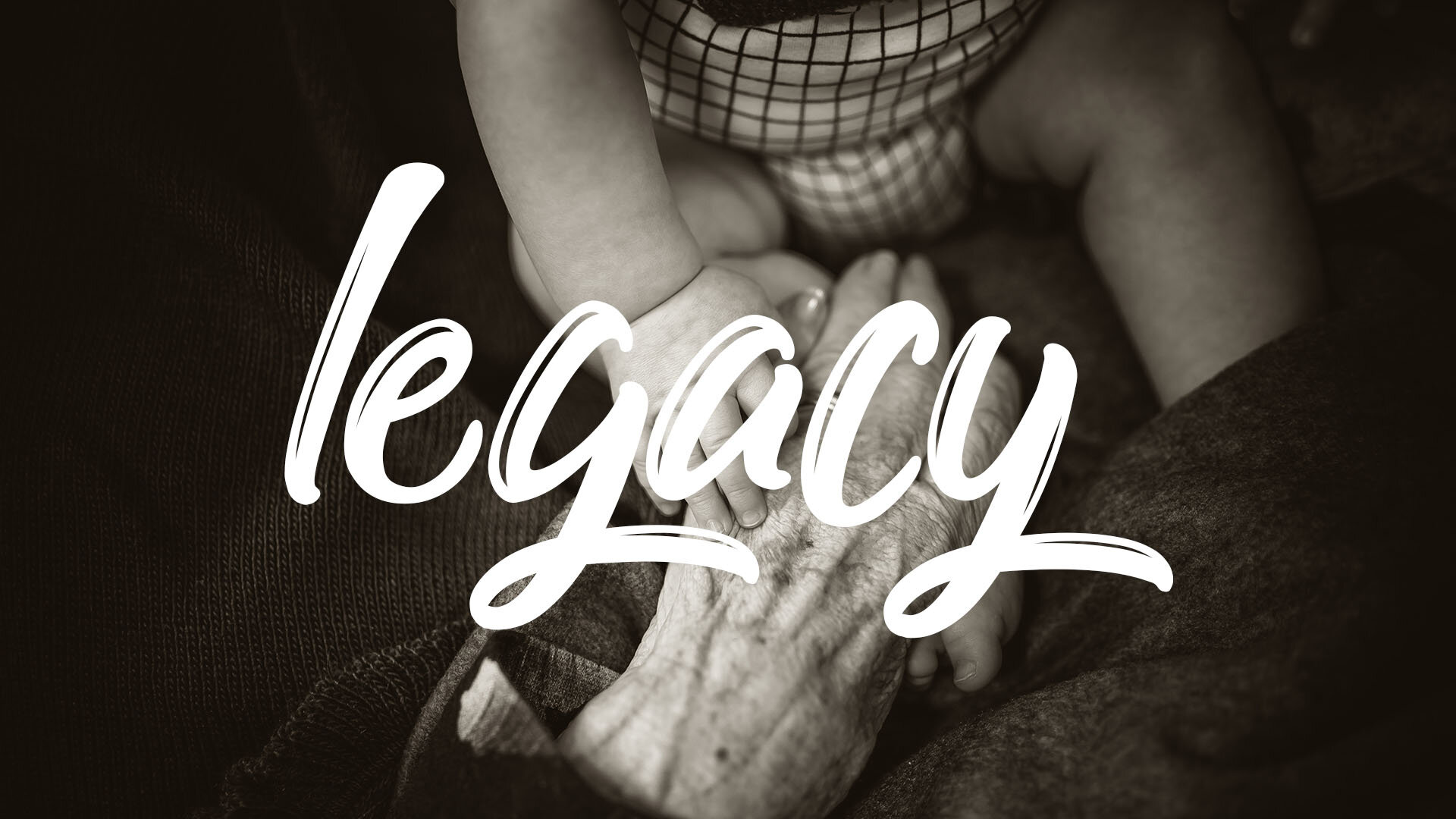 Calling all senior adults! - We all leave a legacy for those who follow. Let's support one another in this journey.