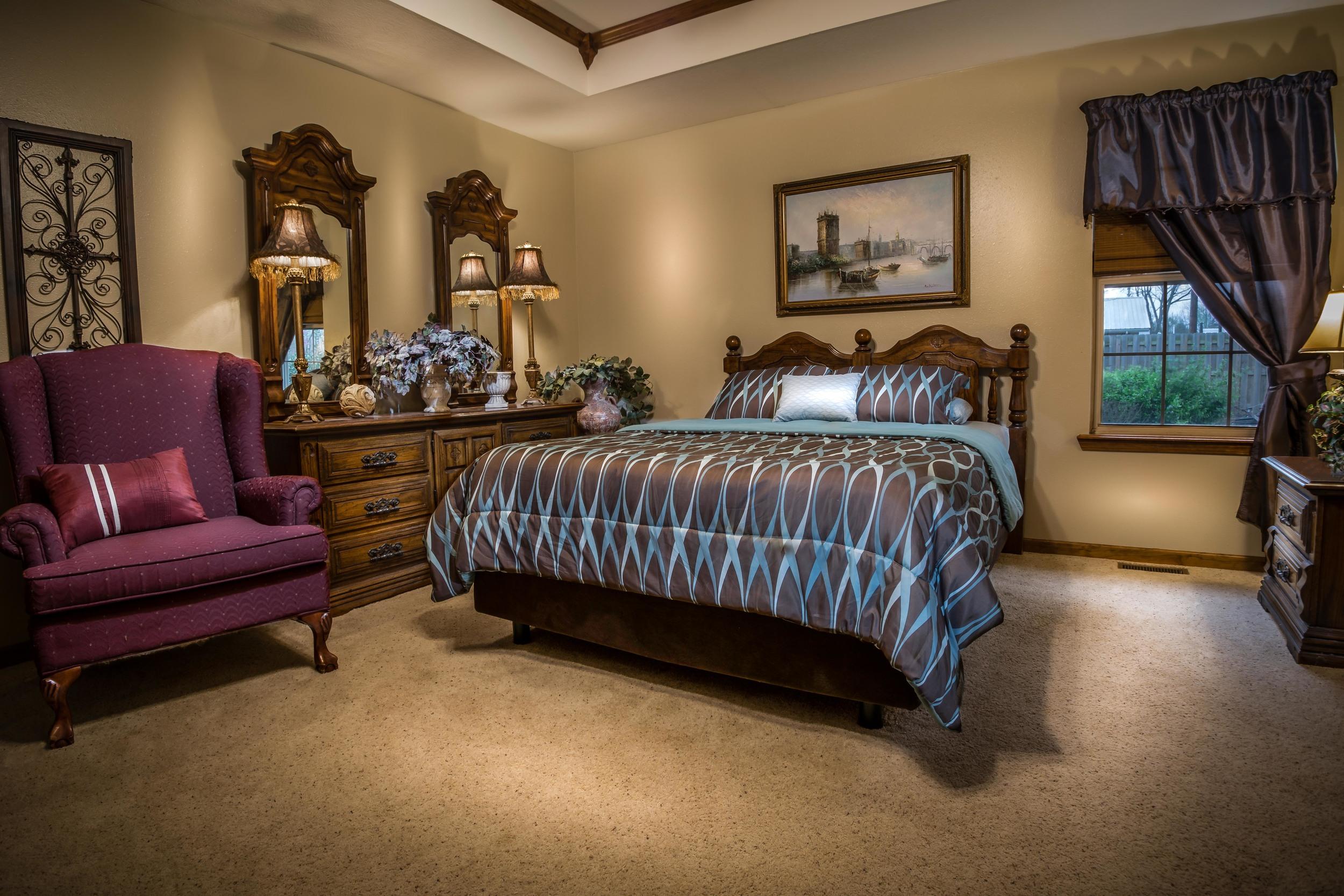 Master Bedroom, Sparta Missouri