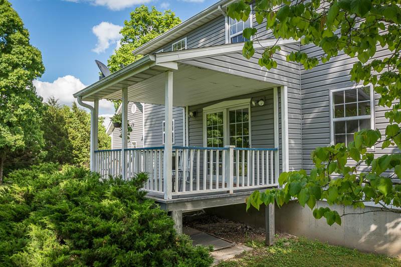 Back Porch, Marshfield Missouri