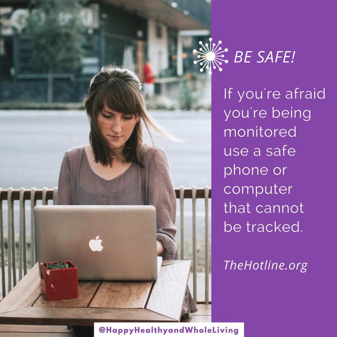 Are you being watched or monitored? Stay safe. Use a computer or device that your abuser cannot track. Safety tips  @thehotline :  http://bit.ly/2zaYWQy   #DomesticViolenceAwareness  #takethequiz  #InspireHope  #vawa  #BreakTheCycle   #StopDomesticViolence  #HappyHealthyAndWholeLiving