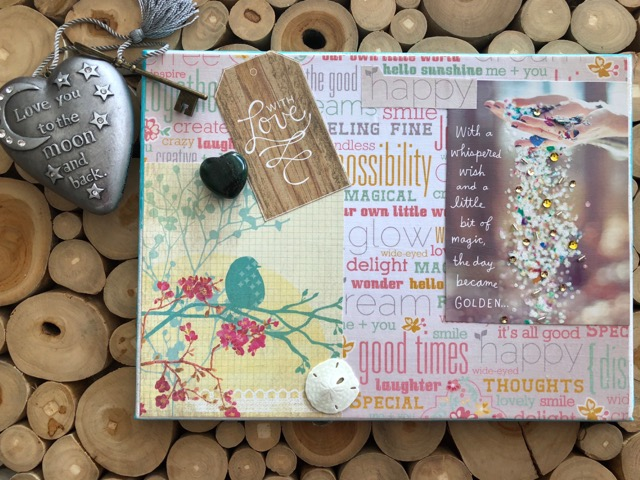 Vision boards are a powerful and fun way to manifest your best life. Here's my latest one, created while on a peaceful retreat in Siesta Key.
