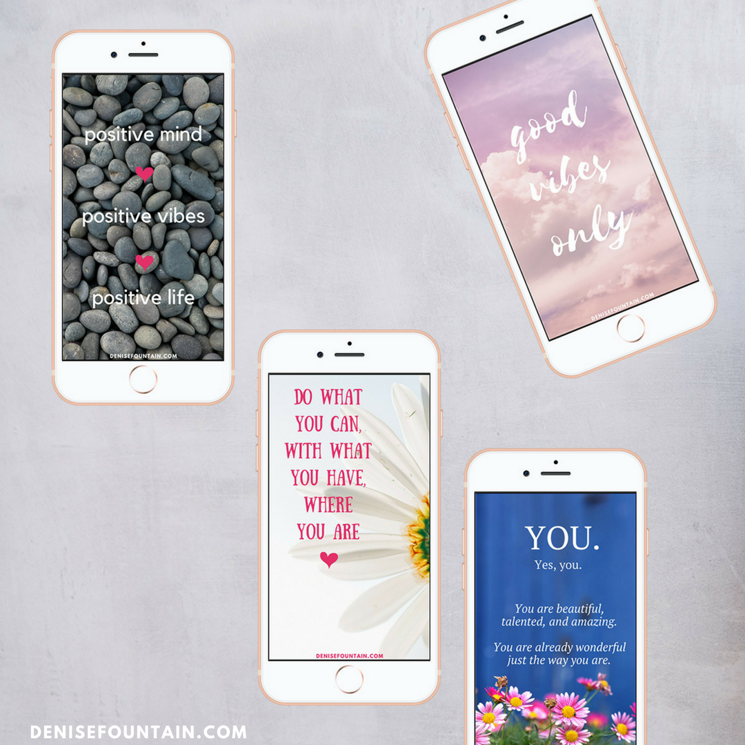 Sign up for my email newsletter and get four inspirational phone wallpapers FREE!