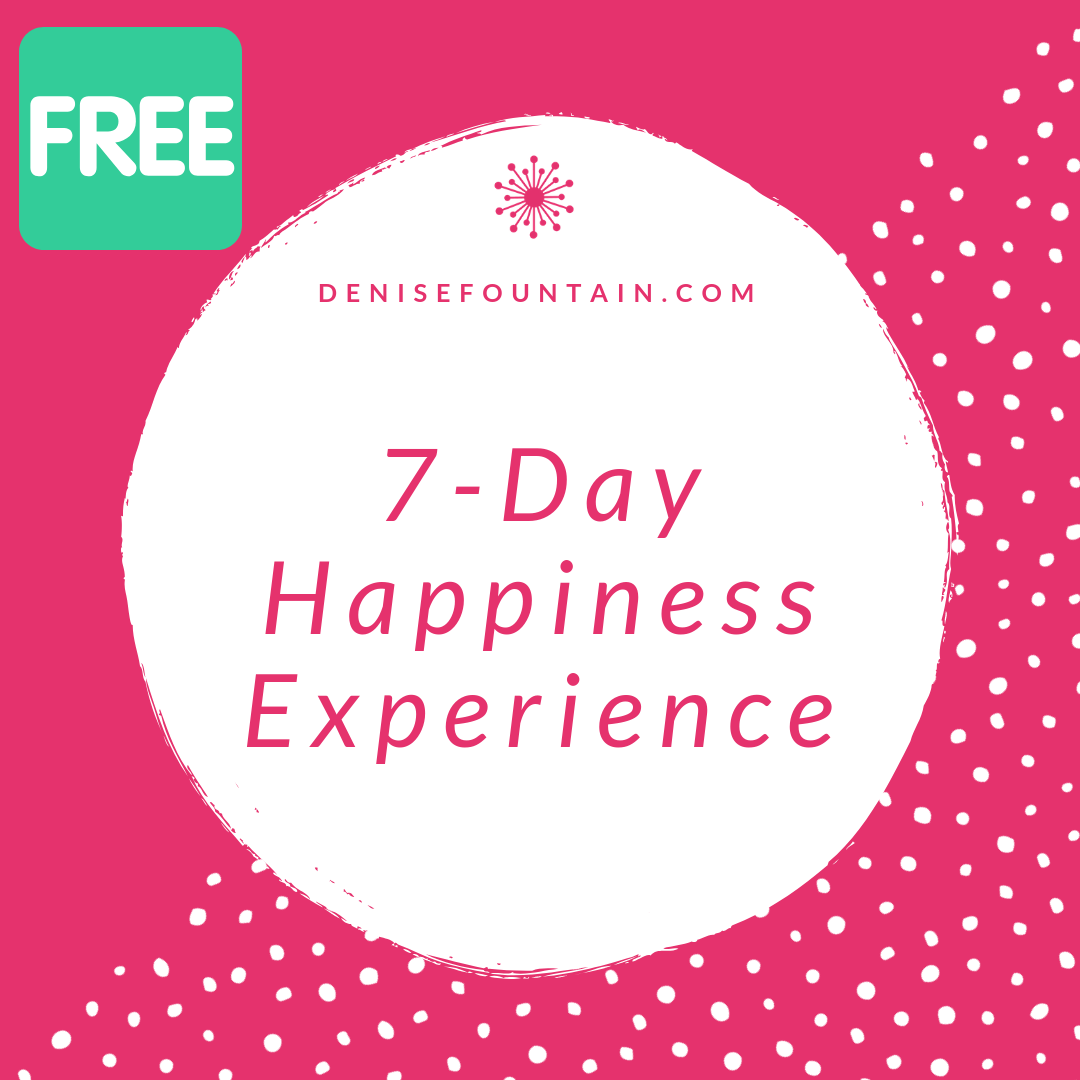 7 days of happiness-inspiring emails in your inbox every day. Sign up for the free 7-Day Happiness Experience. What's not to love?