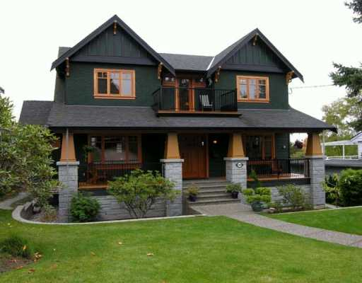 LORRIANE DRIVE  A 5000 square foot craftsman style custom home in Coquitlam.