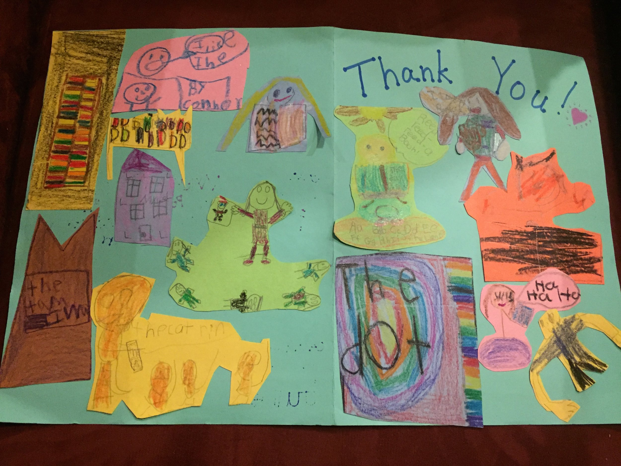Thank you from Zane 1st graders.JPG