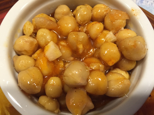 Moroccan Chick Peas