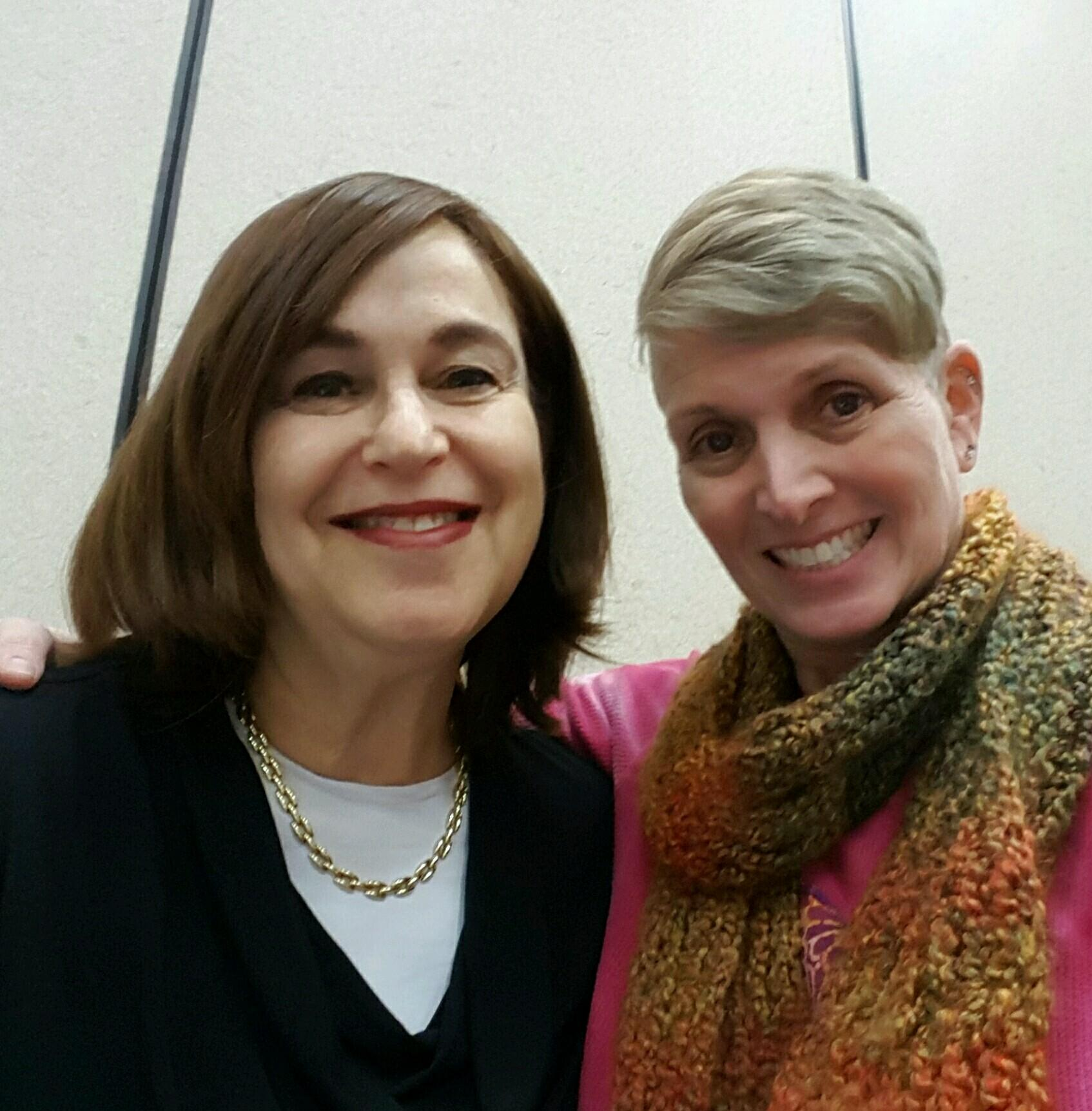 With my dear friend Sharon, who took the photographs at this event  Thank you so much, Sharon