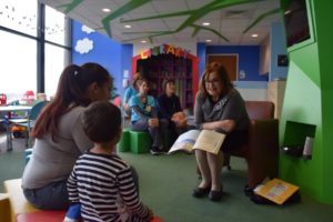 CooperHealth, November 23, 2016   Children's Book Author Reads to Pediatric Patients at Cooper