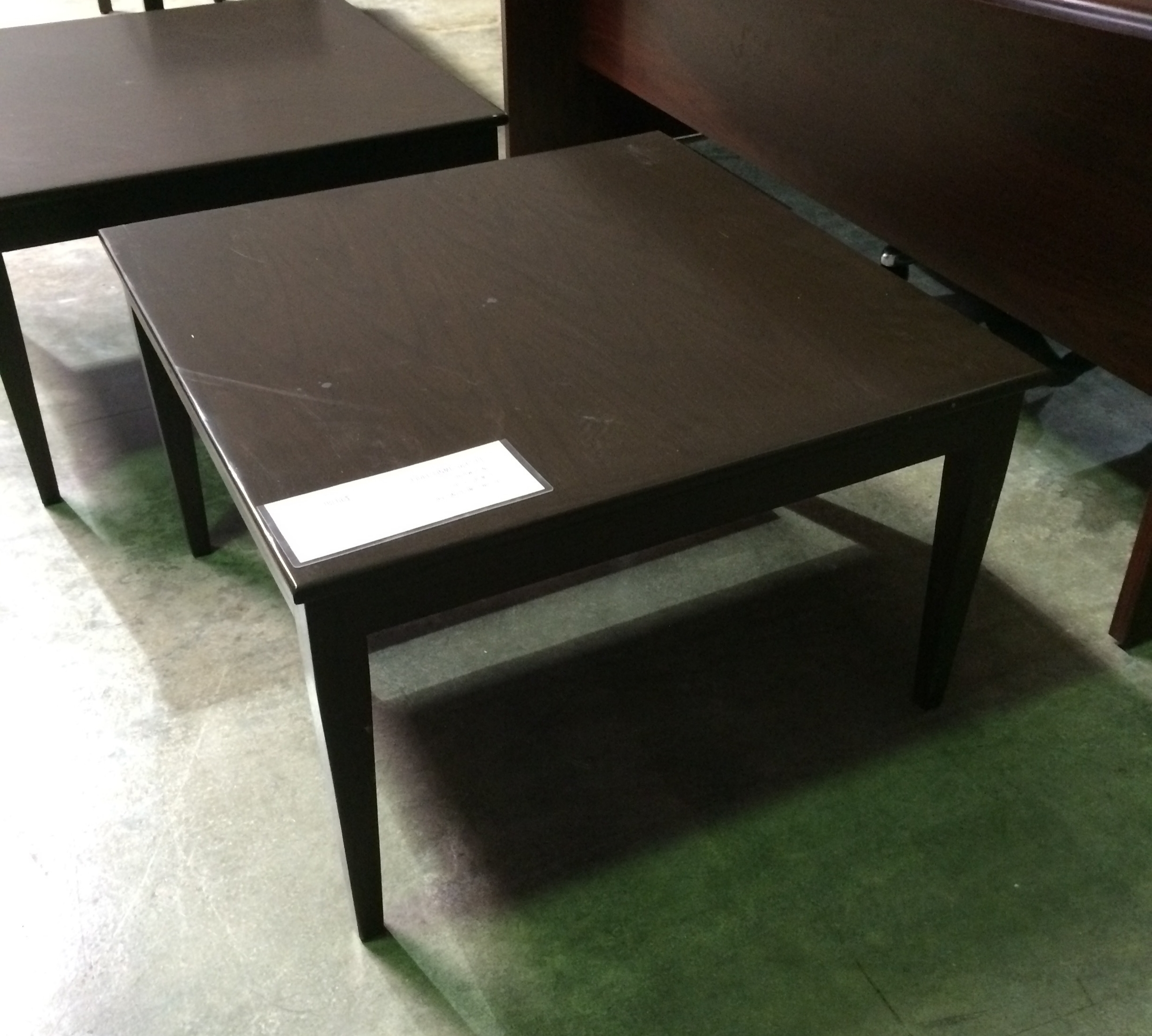 Used Faustino's Wood End Table ($99.00)