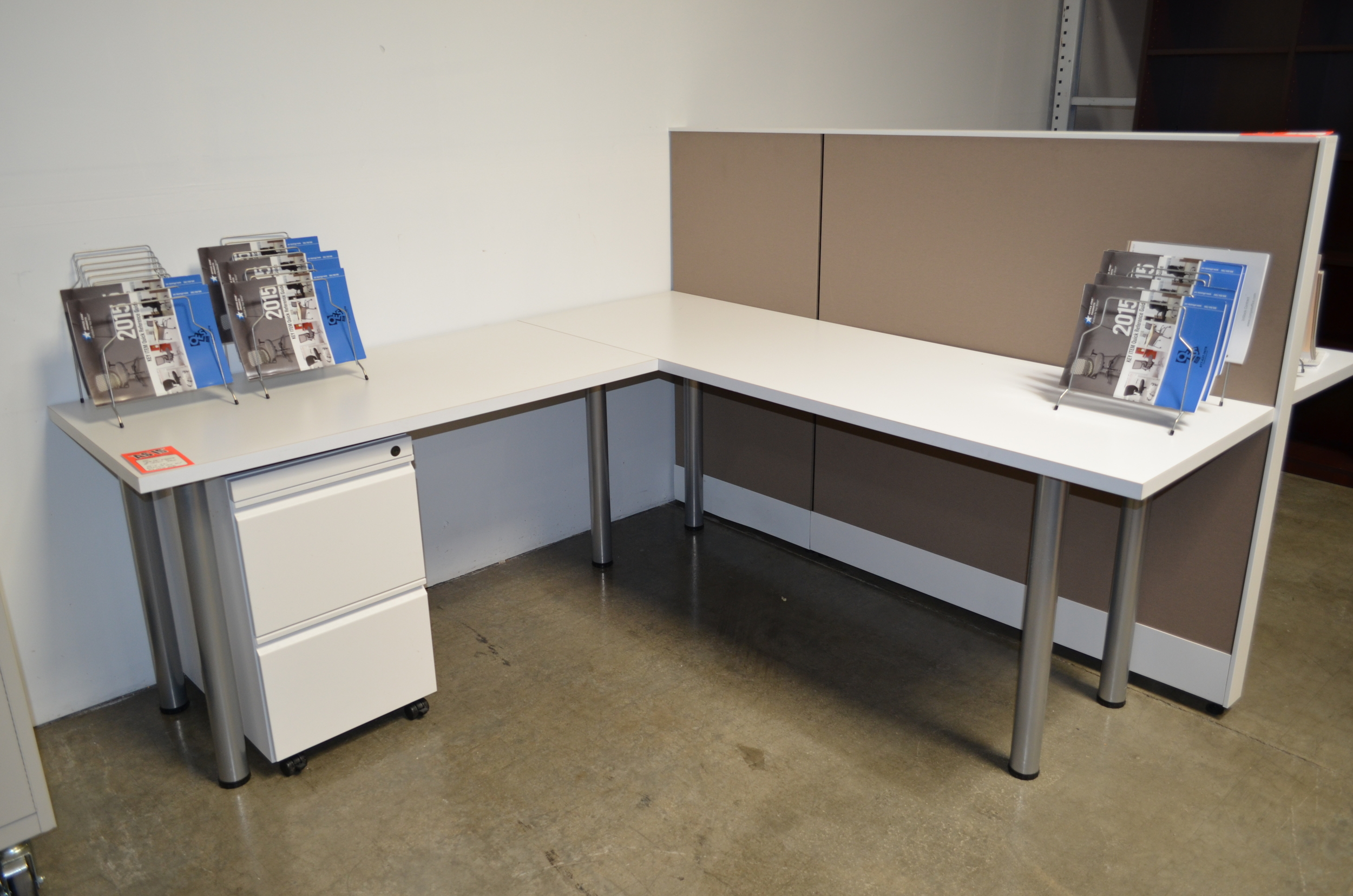 Copy of Pre owned  72''x72'' Computer Workstation ($299.00)