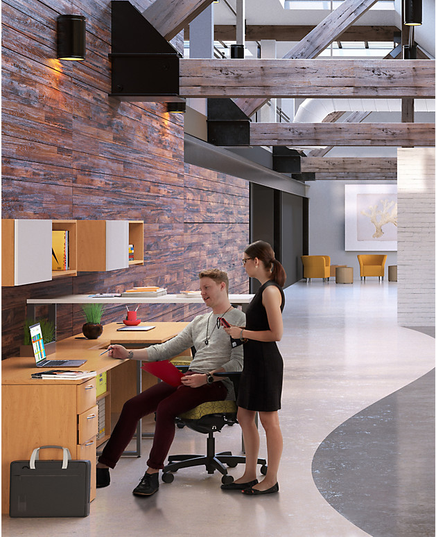 Pull up a (better) chair. - Great looking, hard-working office chairs make you feel more comfortable and productive at work.