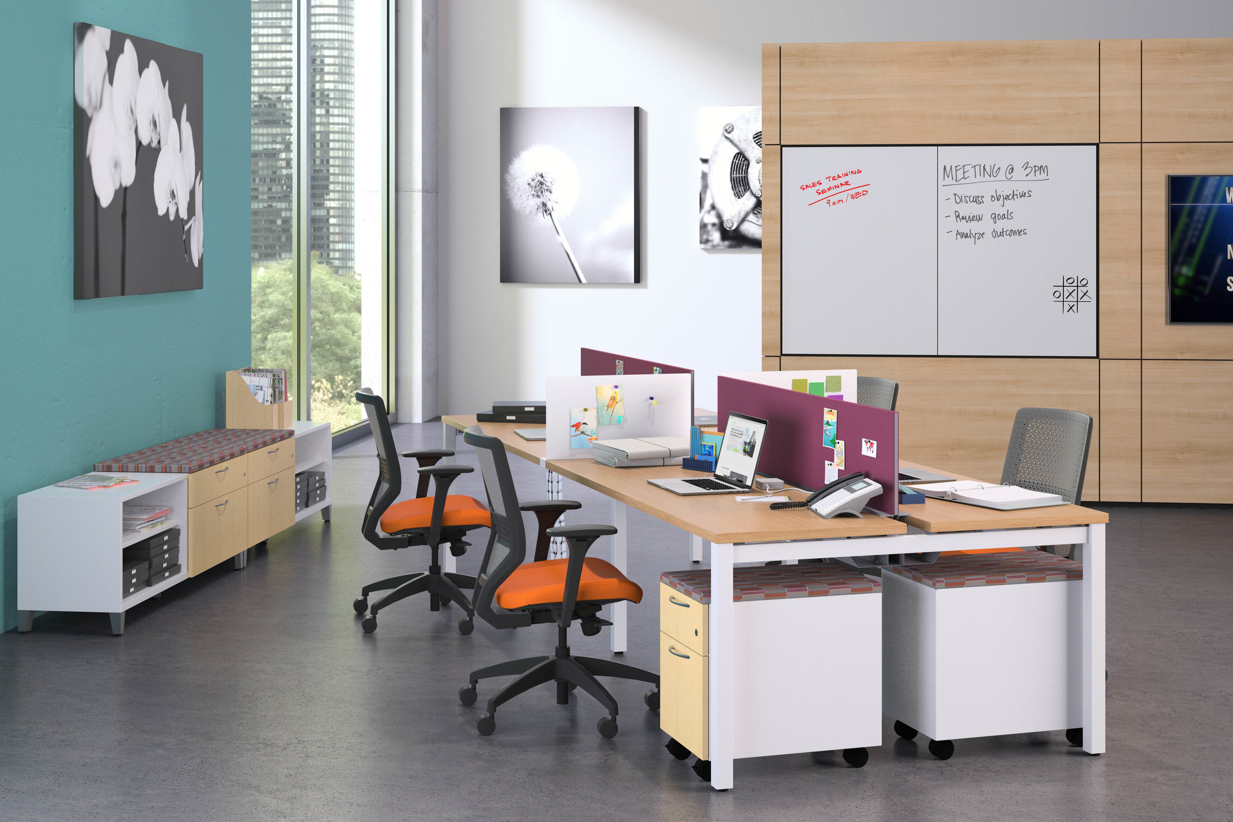 Workstations - Connecting the way people work.