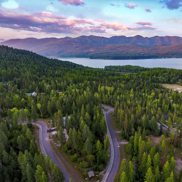 Ohhh, so this is what they meant by purple mountain majesties. #PhotoByVizzi #RealEstateMedia #RealEstatePhotography #AerialPhotography #VizziMediaSolutions #VizziMT #goVizzi