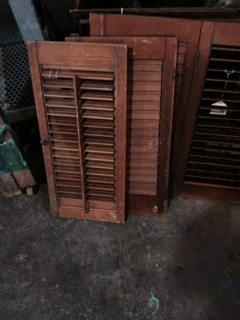 Shutters available in our lower mezzanine.