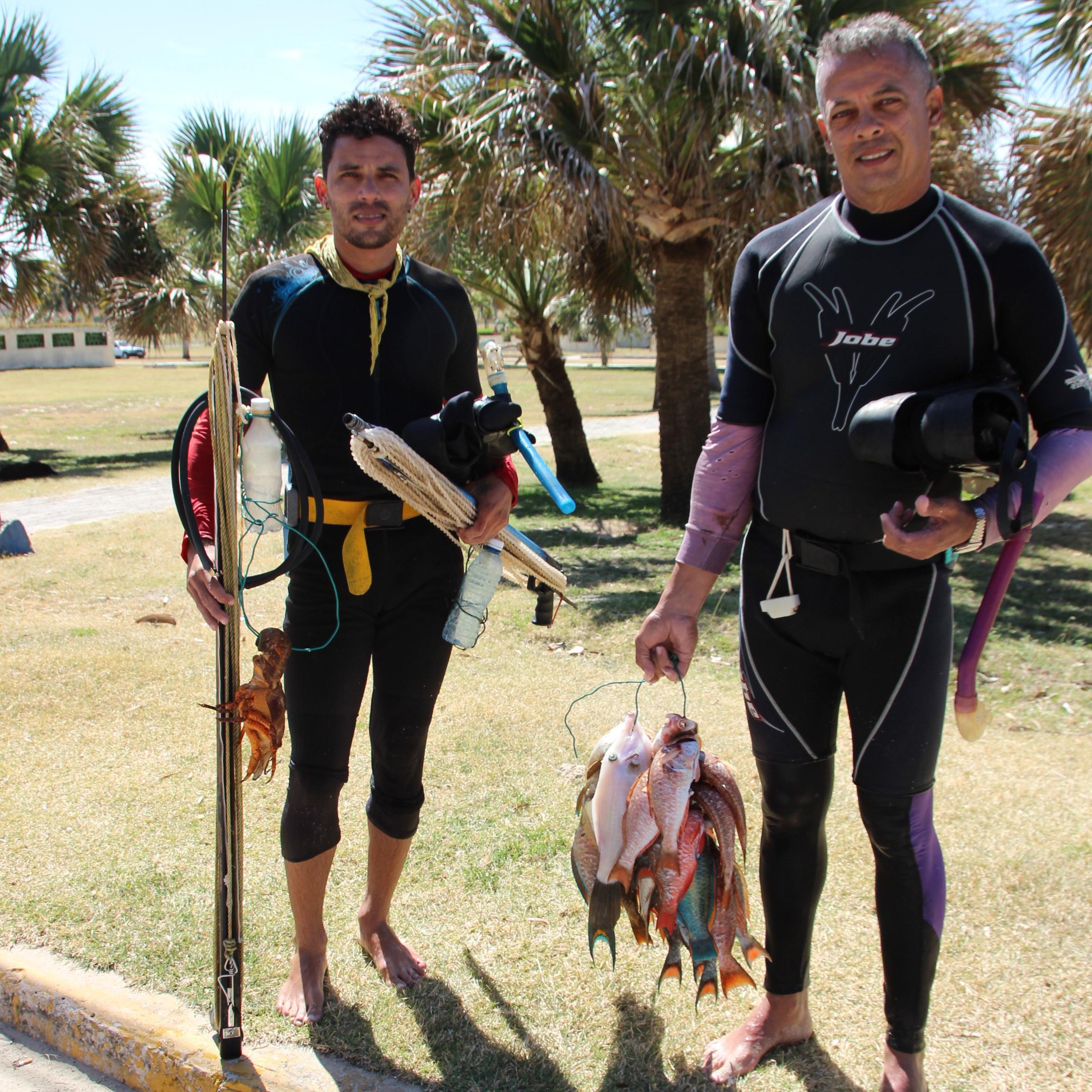 Spear Fishing Playa Del Este Cuba