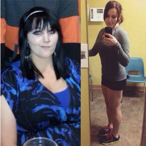 How Miranda lost 81 lbs in one year