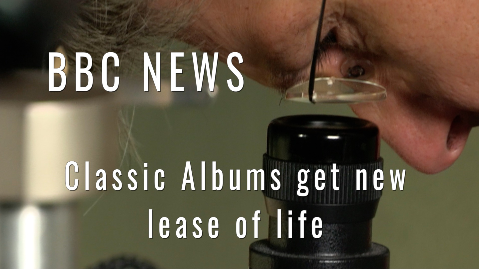 BBC News  - Classic Albums Get New Lease of Life