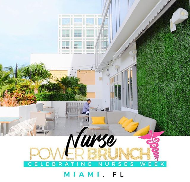 Let's celebrate Nurses Week 2019 in South Beach! Join @thenursepowernetwork for the 2nd Annual #NursePowerBrunch for National Nurses Week. This year every guest will be VIP, receiving a premium outdoor experience on the deck at the Hyatt Centric with a professional networking crowd to enjoy our brunch day party! Did we mention our premium experience includes unlimited Mimosas and Bellinis? Perfect for the South Beach vibes. Plus we are also giving everyone our reusable gold tote bag, Nurse Power journal, T-shirt, and giveaways! Come to participate in our interactive Q&A session to get the answers, meet the people, and learn how to apply your Nurse Power to reach new levels! While enjoying the nurse networking atmosphere, Q&A discussion and brunch, guest will also be able to enjoy music, outdoor setting, and photo opps. Link in bio or click here: bit.ly/miaminursebrunch #NursePower #NursesWeek #ChickswithCheques
