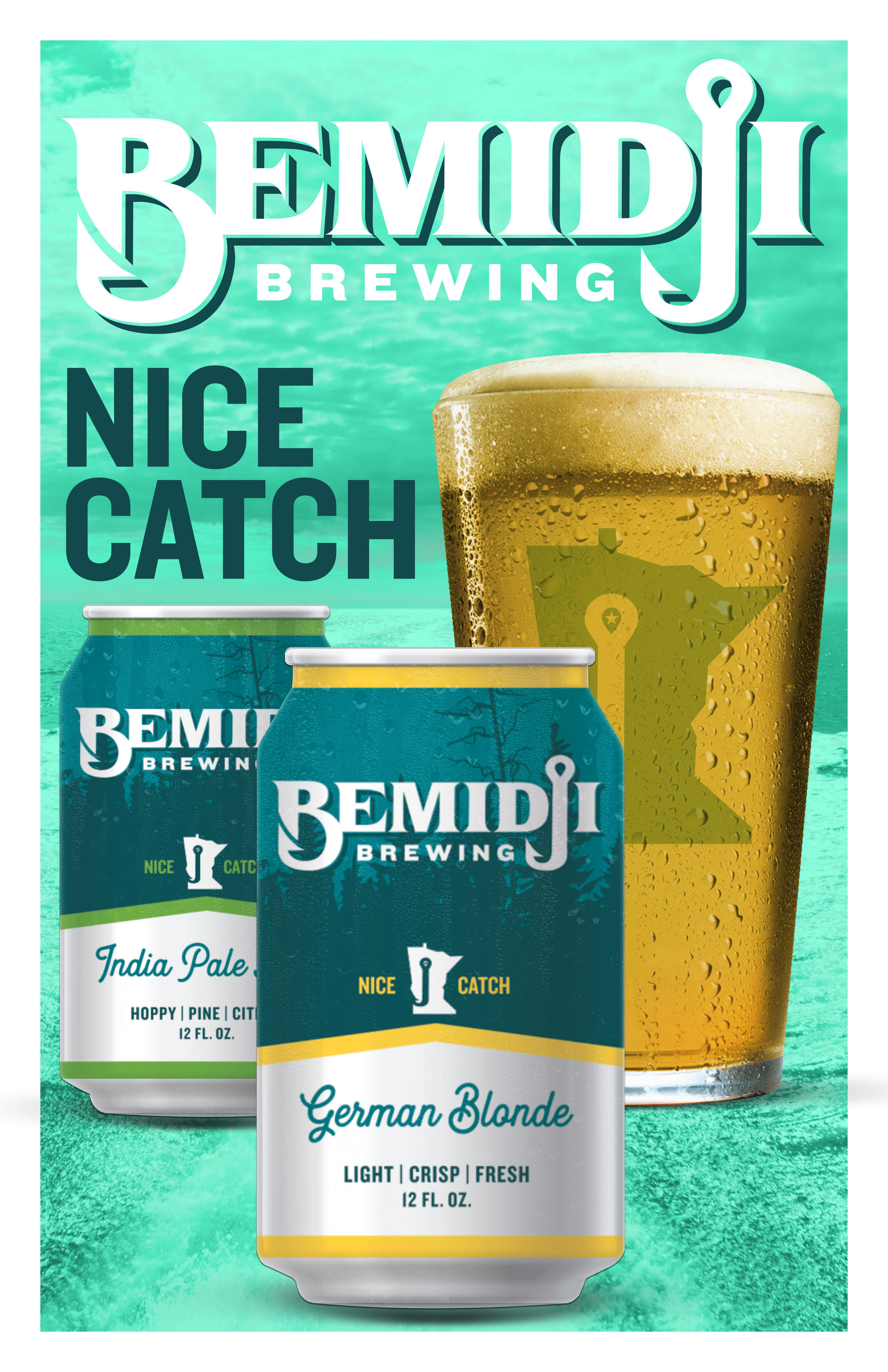 Bemidji Brewing is available on tap and in cans.