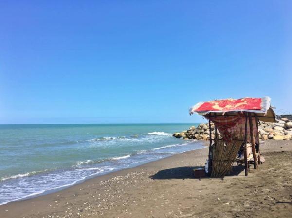 Caspian Sea Beach