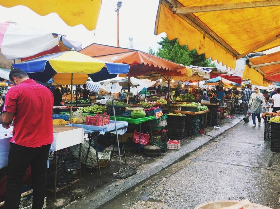 Bazar in Mazandaran (Shomal)