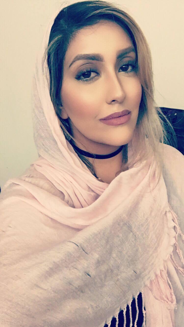Me in a headscarf (hijab)