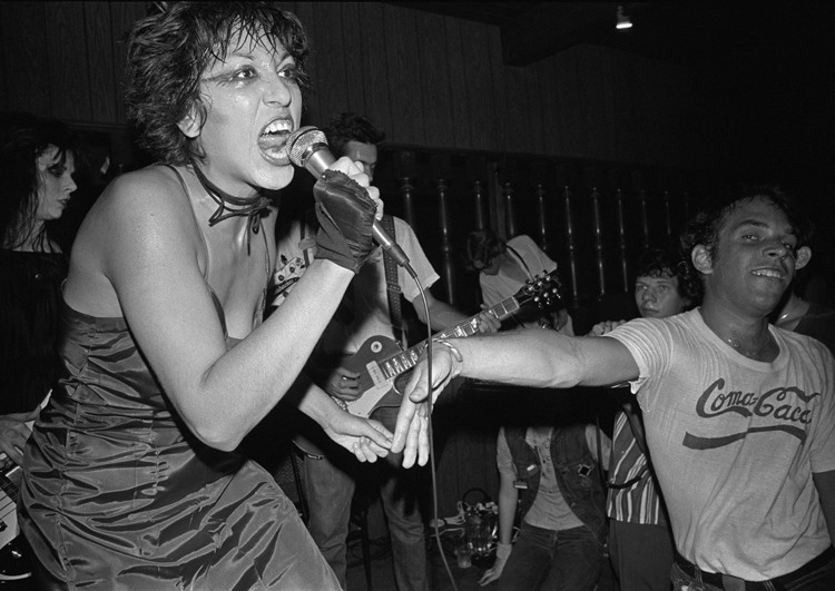 Alice Bag performing with The Bags