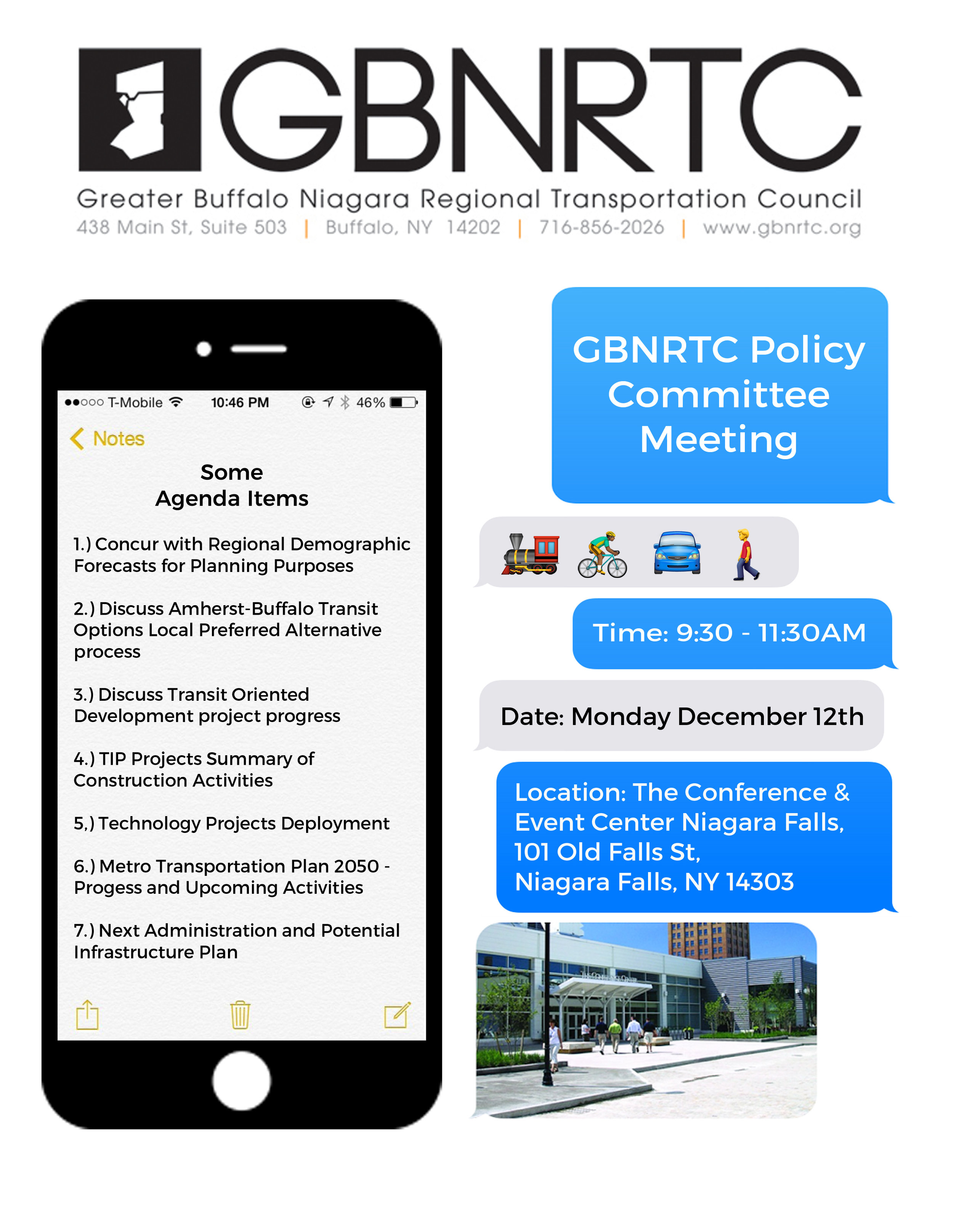 GBNRTC Policy Committee Meeting