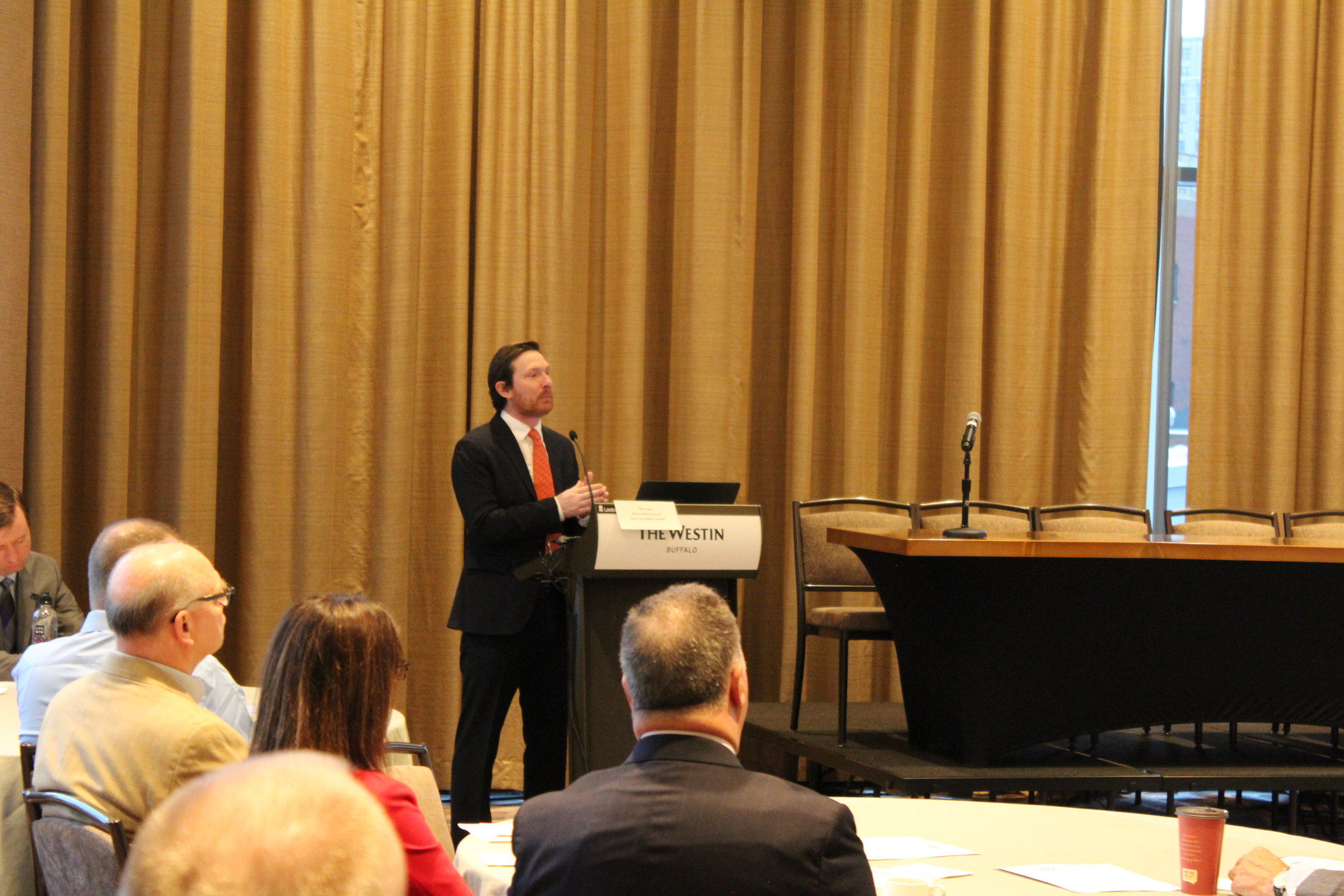 Bart Roberts, Associate Director of Research and Faculty Engagement at UBRI