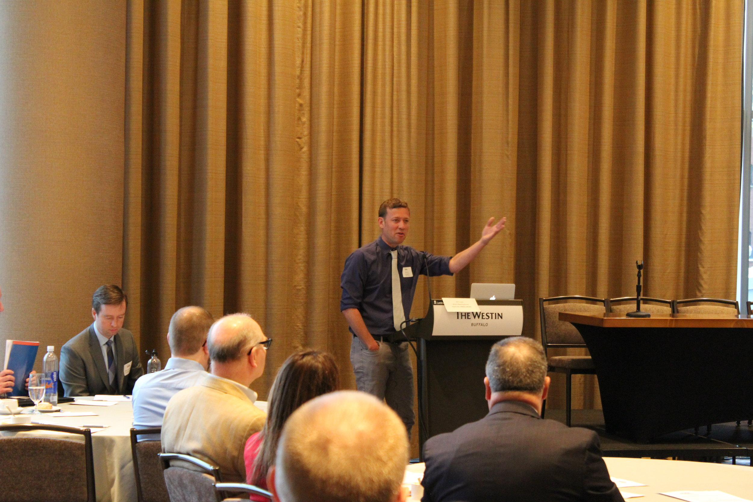 Ketynote Speaker Anthony M. Townsend, Senior Research Scientist at NYU's Rudin Center for Transportation and fellow at the Data & Society Research Institute