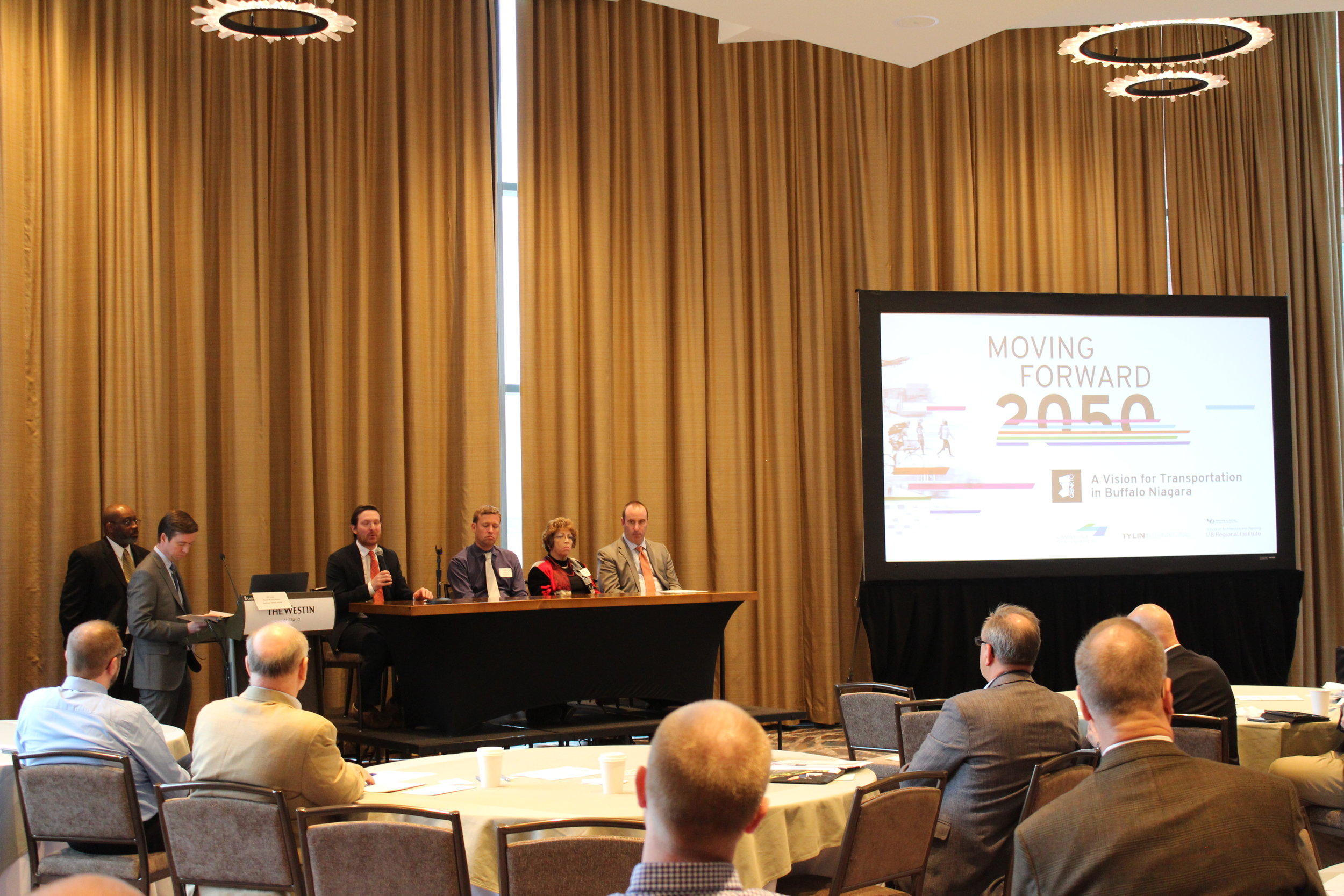 Discussion Panel with 2050 Summit Presenters