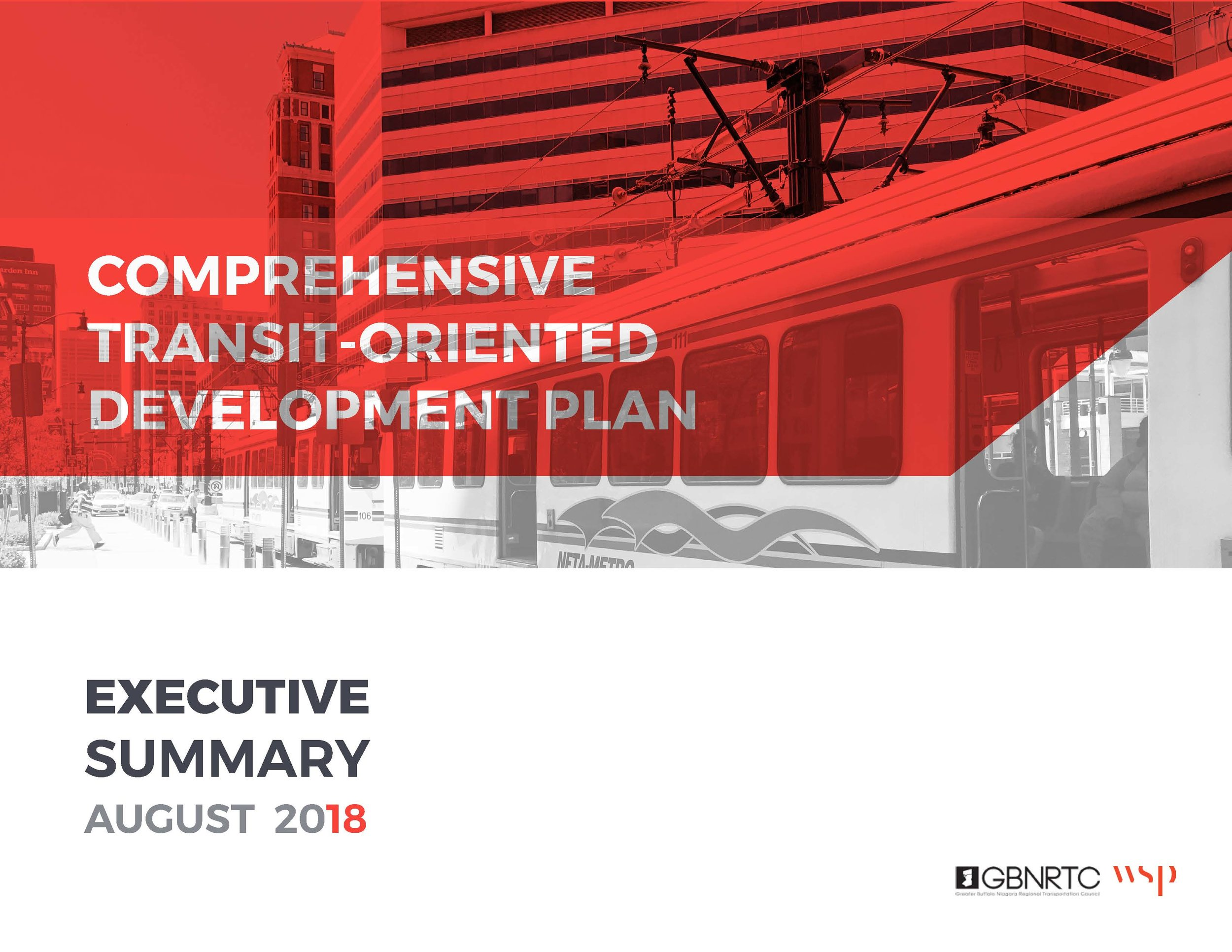Comprehensive Transit-Oriented Development Plan - Executive Summary 2018