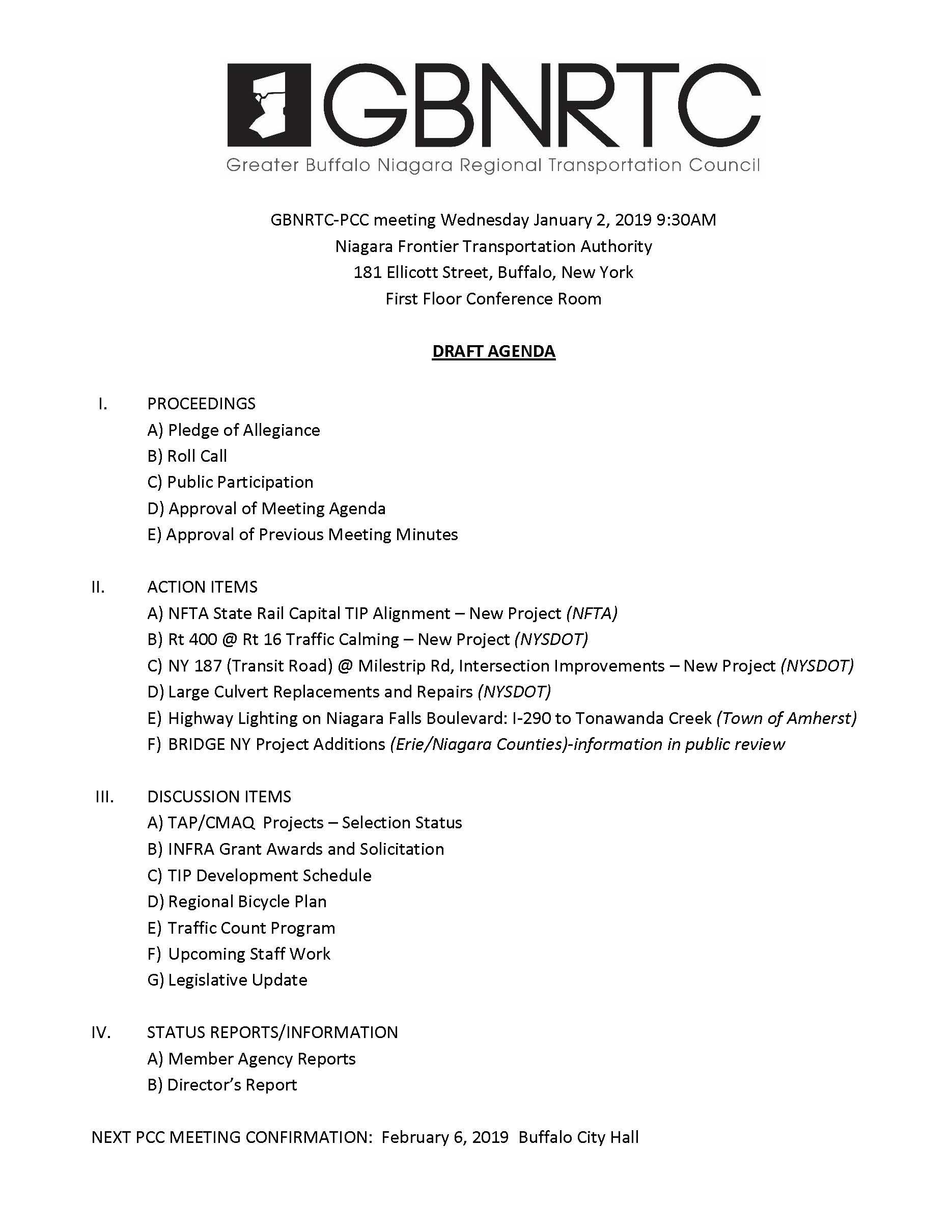 PCC Agenda-1-2-2019