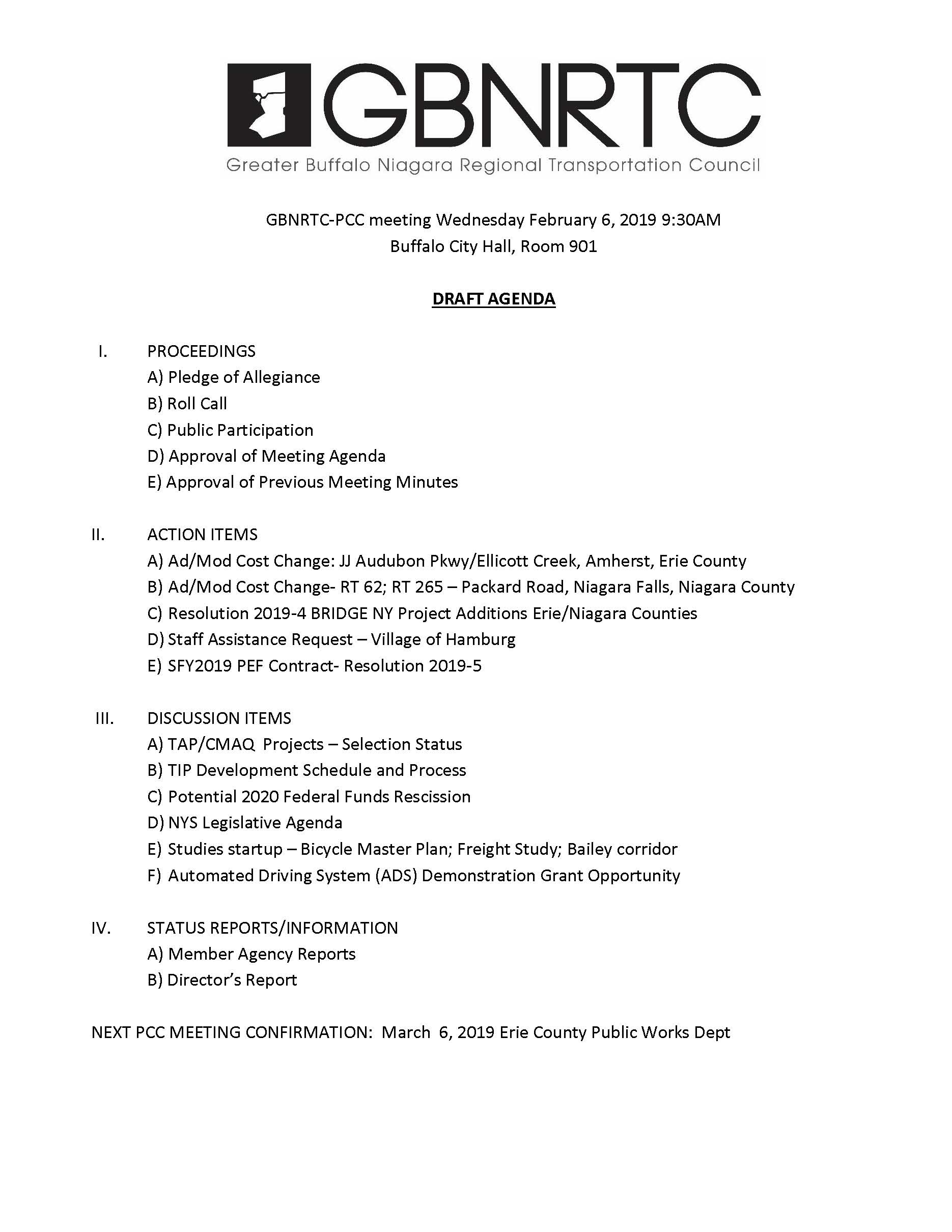 PCC Agenda-2-6-2019