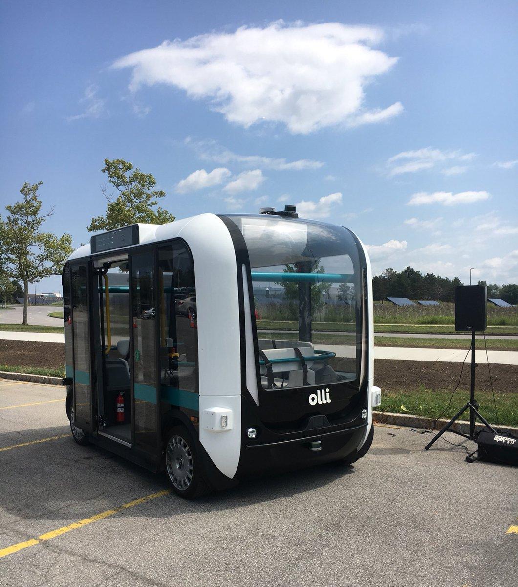 @localmotors  Olli Autonomous Vehicle shuttle  @UBuffalo
