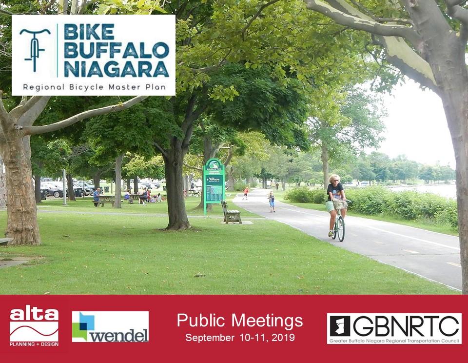 Bike Buffalo NiagaraCommunity Workshops - September 10th & 11th