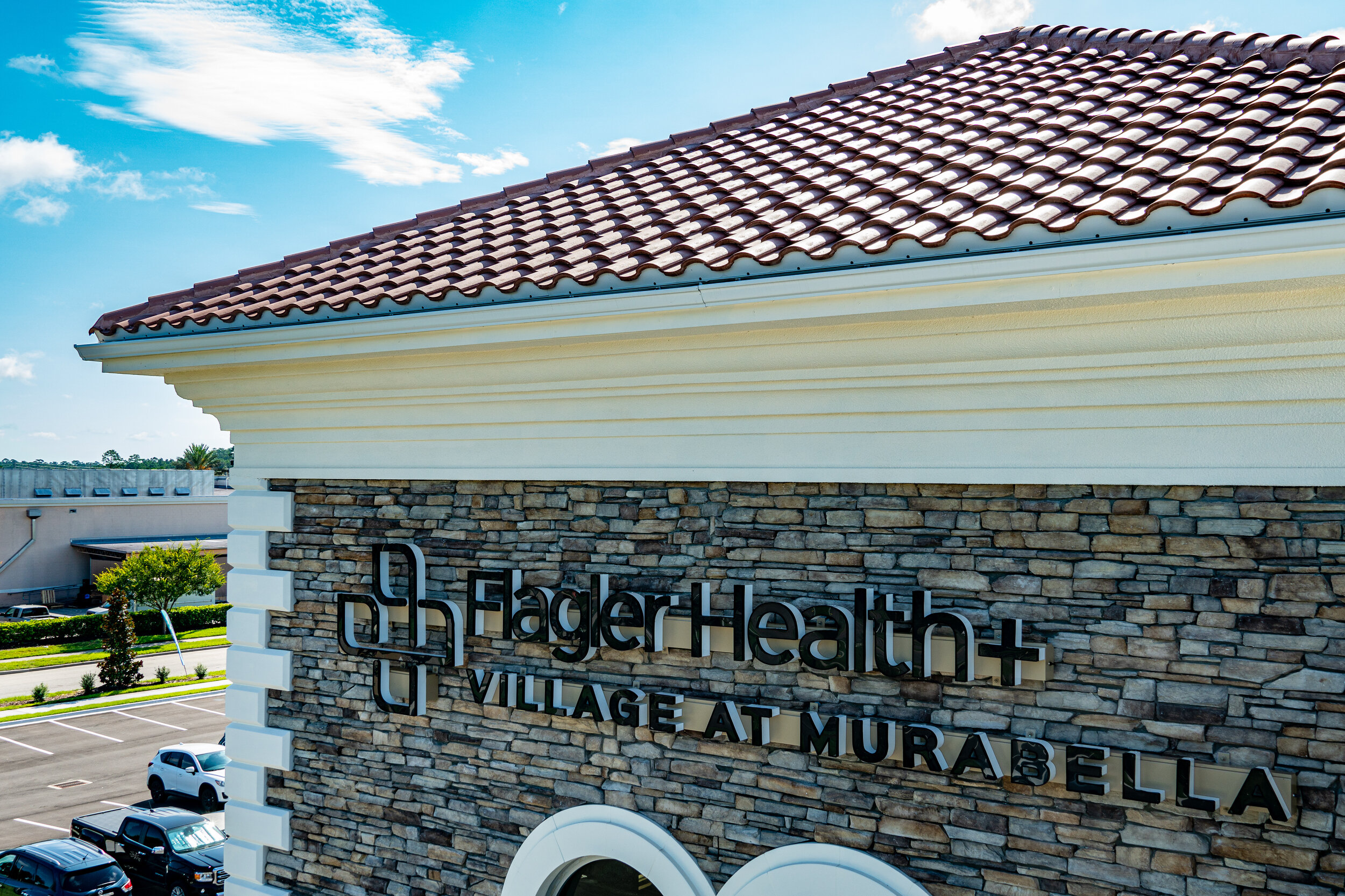 The Flagler Health project, designed and built by Pratt Guys in 2019 - Photo owned by Pratt Guys - NOTE: Can ONLY be used online, digitally, TV and print WITH written permission from Pratt Guys. (PrattGuys.com) - Photo was taken on July 23, 2019.