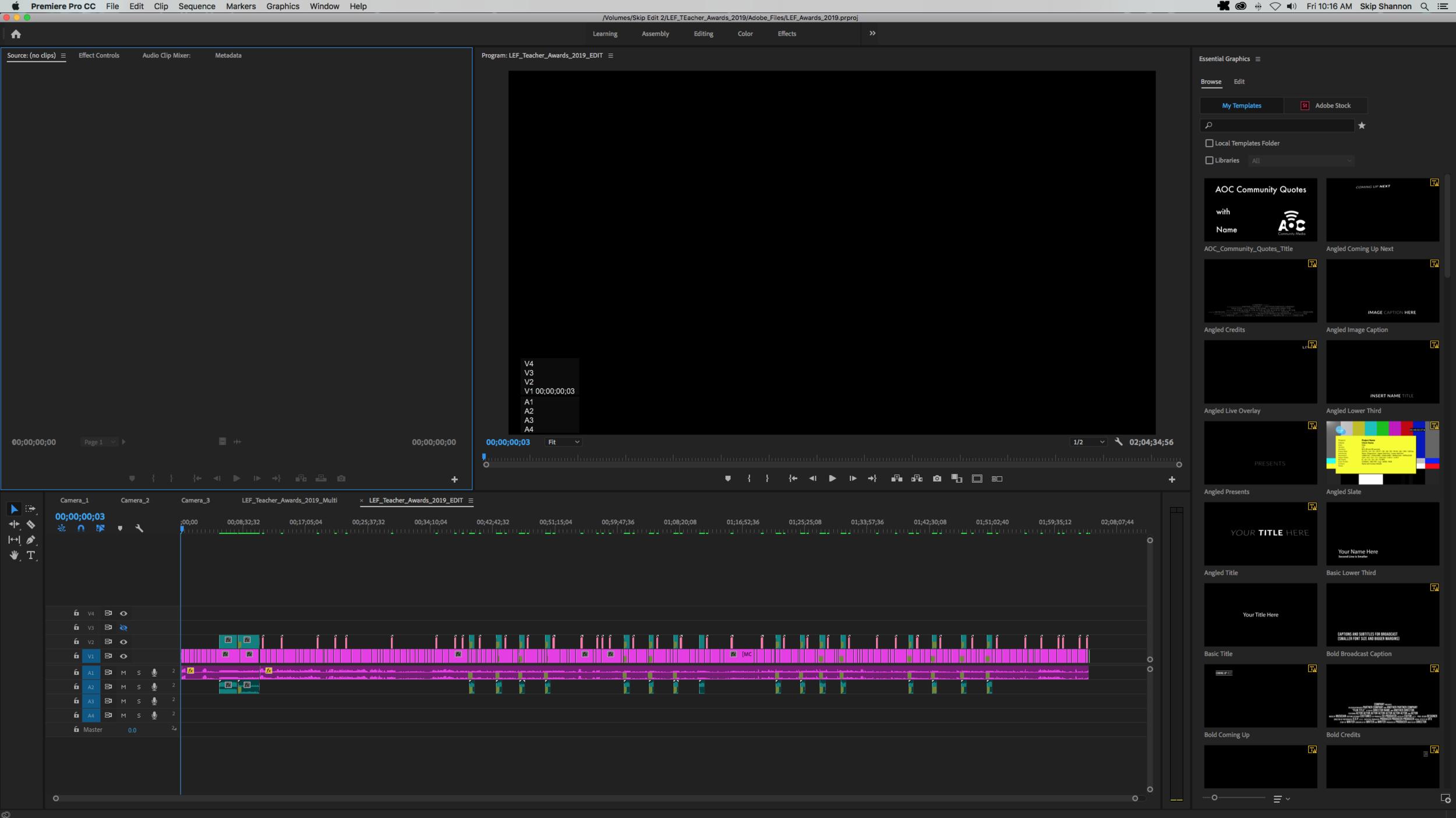 Premiere Pro Screenshot