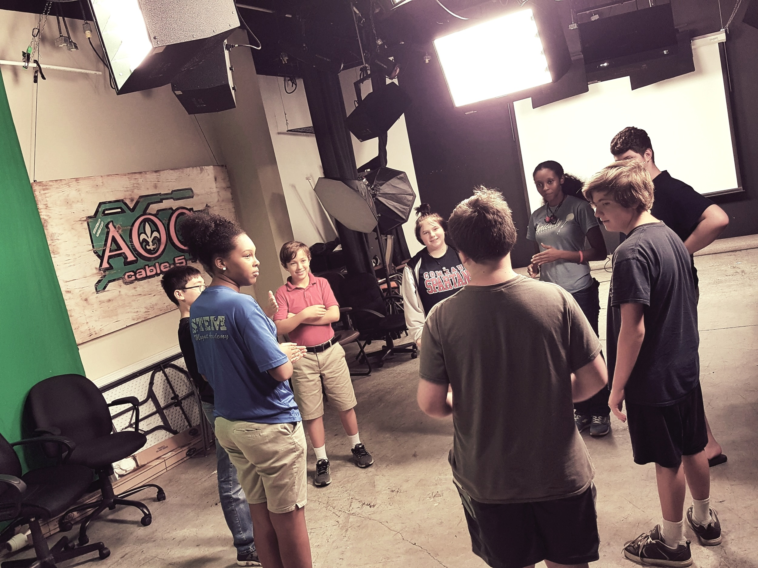 TEEN MUSE - Mondays, 4:30-6:00pm (Every Spring/Fall)Ages 12-17Find out more about AOC's after-school media education program!