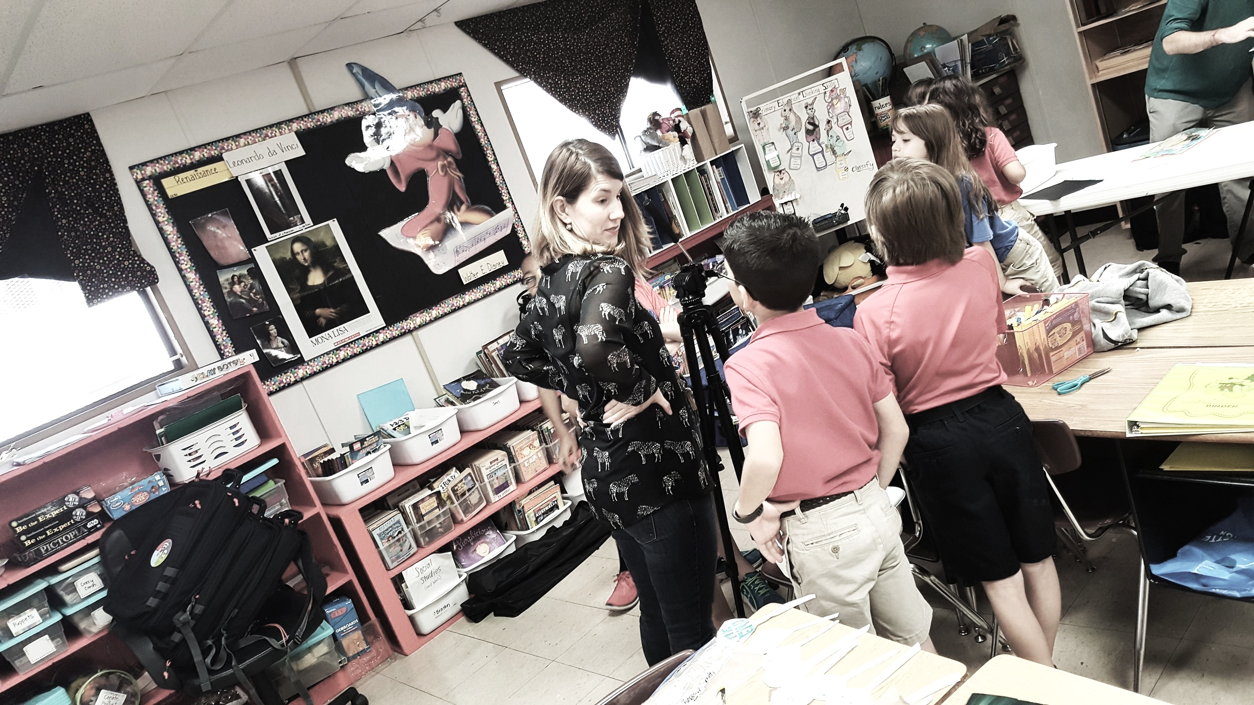 MEDIA LITERACYIn the Classroom - Our Media Literacy Program is a free interactive education program that offers creative, engaging K-12 media literacy presentations to any Lafayette parish educator.