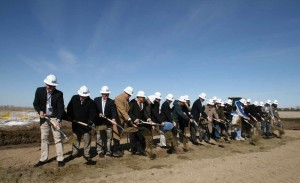 Dakota Praire Groundbreaking Shovels