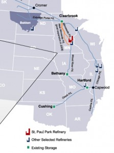 Northern Tier Energy Asset Map